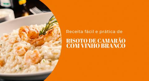 Risoto de camarão com vinho branco - Evino blog