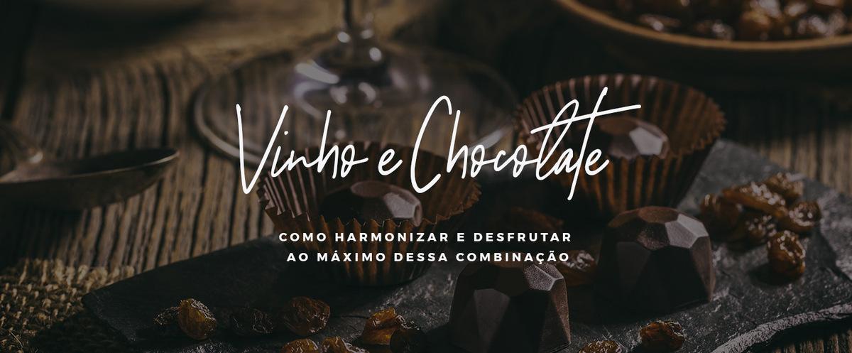 vinho e chocolate como harmonizar