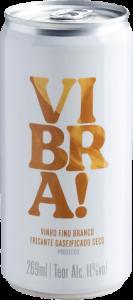 Lata de vinho frisante Vibra! Blog Evino