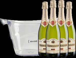 Botão para comprar Quarteto Tanggier + Champanheira