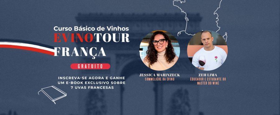 Evino Tour – França: Curso Básico de Vinhos (Gratuito)