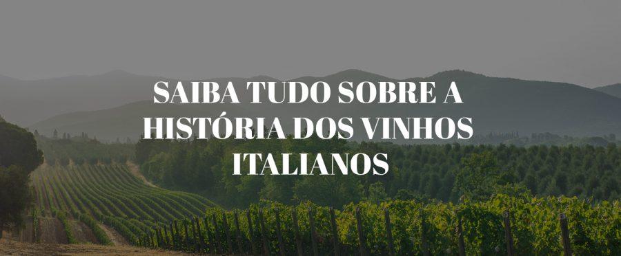 Saiba tudo sobre a história dos vinhos italianos