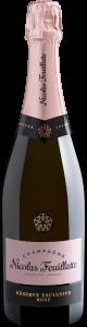 Garrafa de vinho Champagne Nicolas Feuillatte Réserve Exclusive Rosé