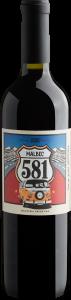 Garrafa de vinho 581 Malbec